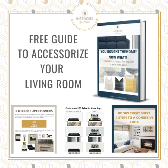 free guide to accessorize your living room